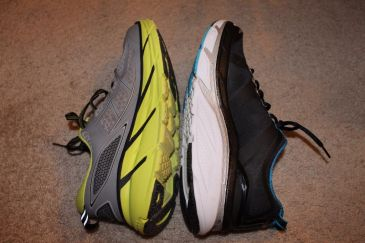 Hoka One One Valor Compare Clifton