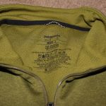 Patagonia Midweight Zip-Neck Shirt