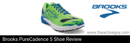 Brooks PureCadence 5 Shoe Review