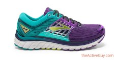 Brooks Glycerin 14 Womens - Green and Purle