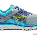 Brooks Glycerin 14 Womens - Silver and Blue