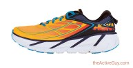 Hoka One One Clifton 3 Orange Blue
