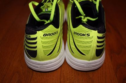 Brooks Asteria heel