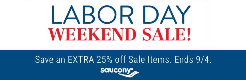 Saucony Labor Day Sale