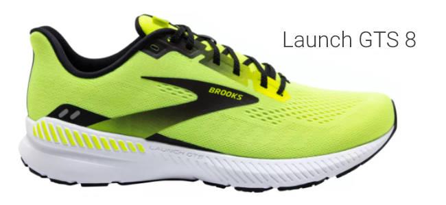 Brooks Launch GTS 8