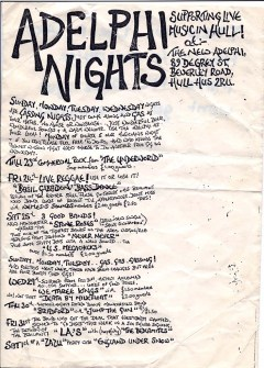 Stone Roses flyer. July 1987