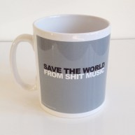 Save the World... + Adelphi logo on reverse. £6