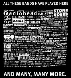 Some previous bands