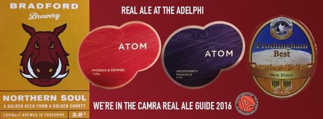 REAL ALE ADELPHI
