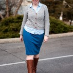 What I Wore: The final push {Pre-snow storm}