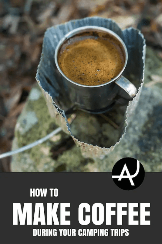 how to make coffee in the outdoors