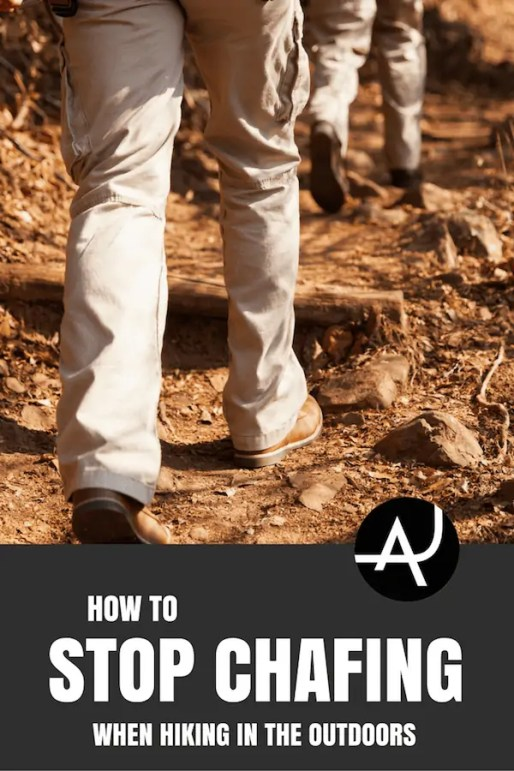 how to stop chafing while hiking