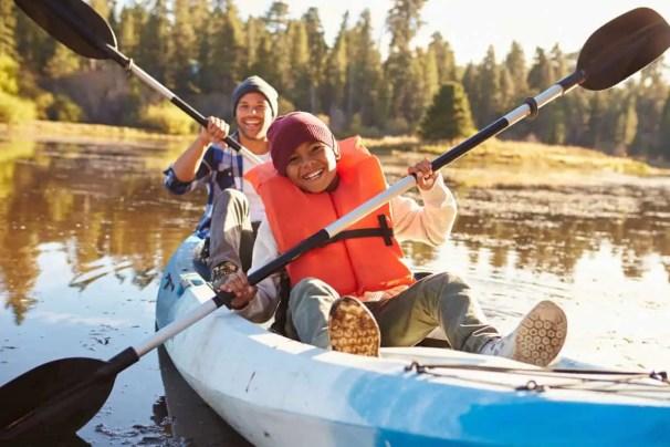 kayaking benefits