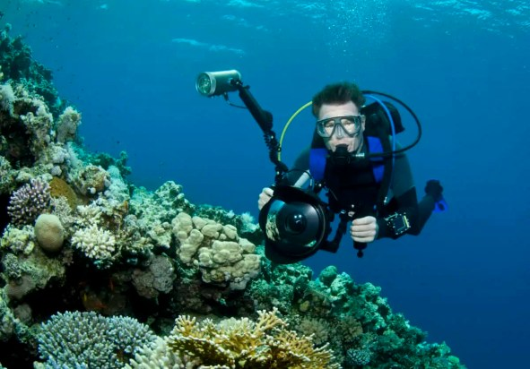 best lights for underwater photography