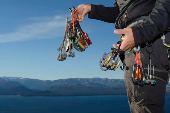 ideal climbing nuts to use