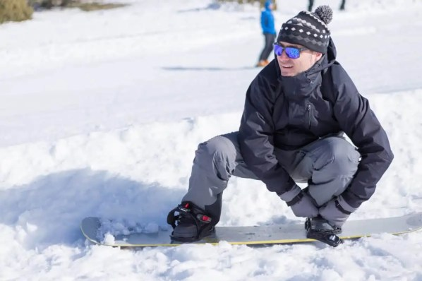 what snowboard bindings to use for skiing