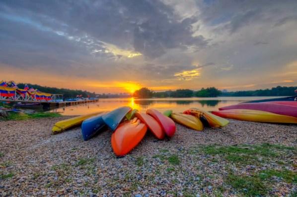 where to best store kayaks