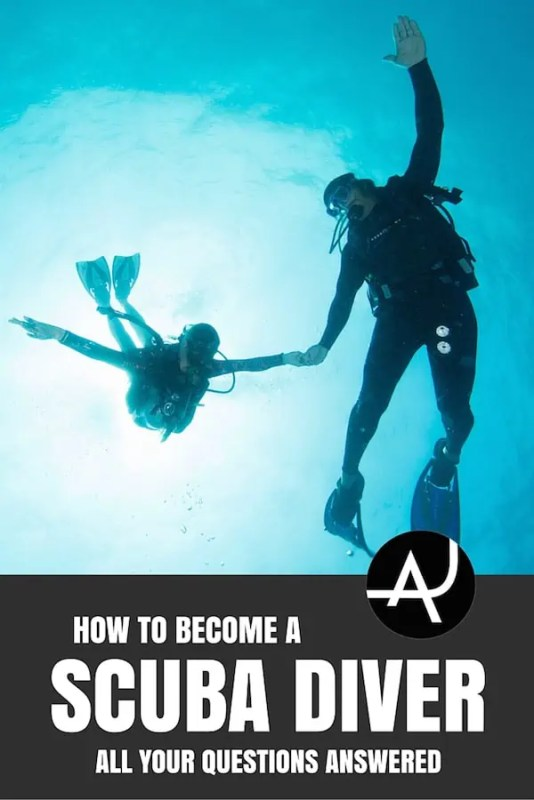 becoming a certified diver