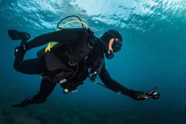 air consumption when diving