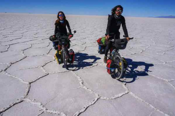 Cycling The Salar De Uyuni