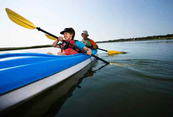 tips in effective kayak paddling