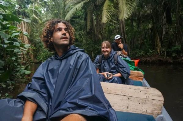 Exploring the Amazon Rainforest in Ecuador