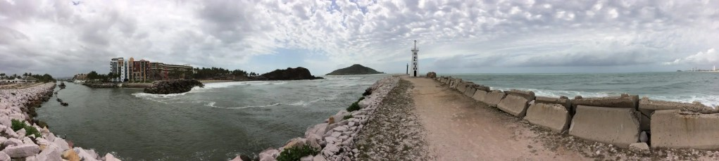Approach to Mazatlan The Adventure Travelers