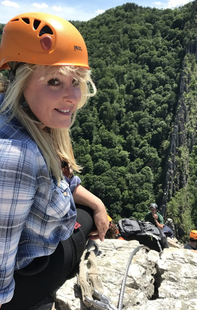 Climbing Via Ferrata Melissa The Adventure Travelers