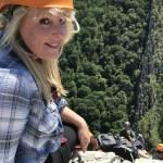 Climbing Via Ferrata Melissa The Adventure Travelers