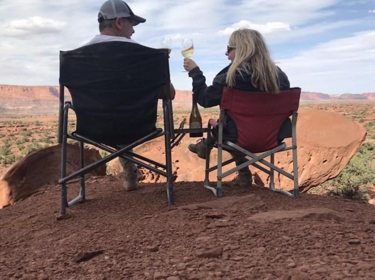 Sundowner Cocktail in Utah The Adventure Travelers