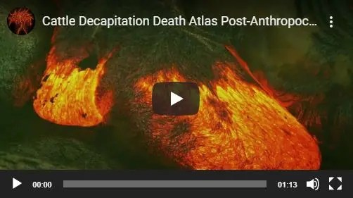 Cattle Decapitation Death Atlas Melissa Harlow VO