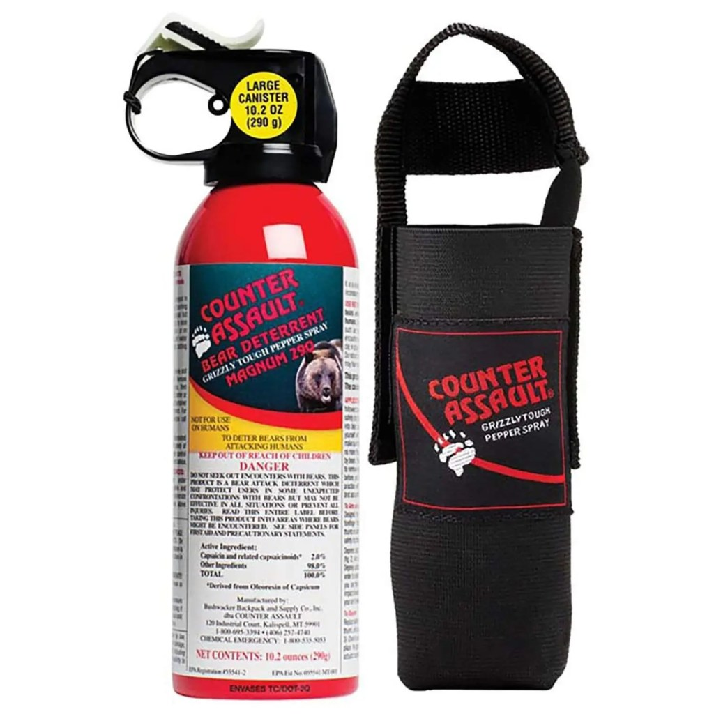 Counter Assault Bear Spray The Adventure Travelers