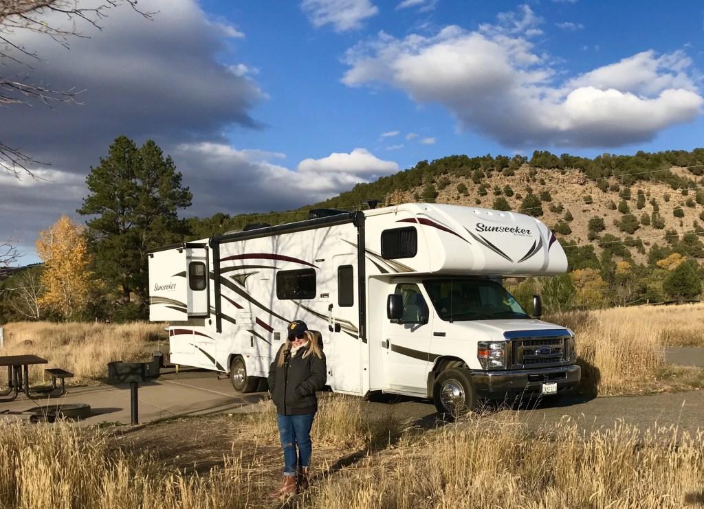 Modern RV's Class C RV Camping
