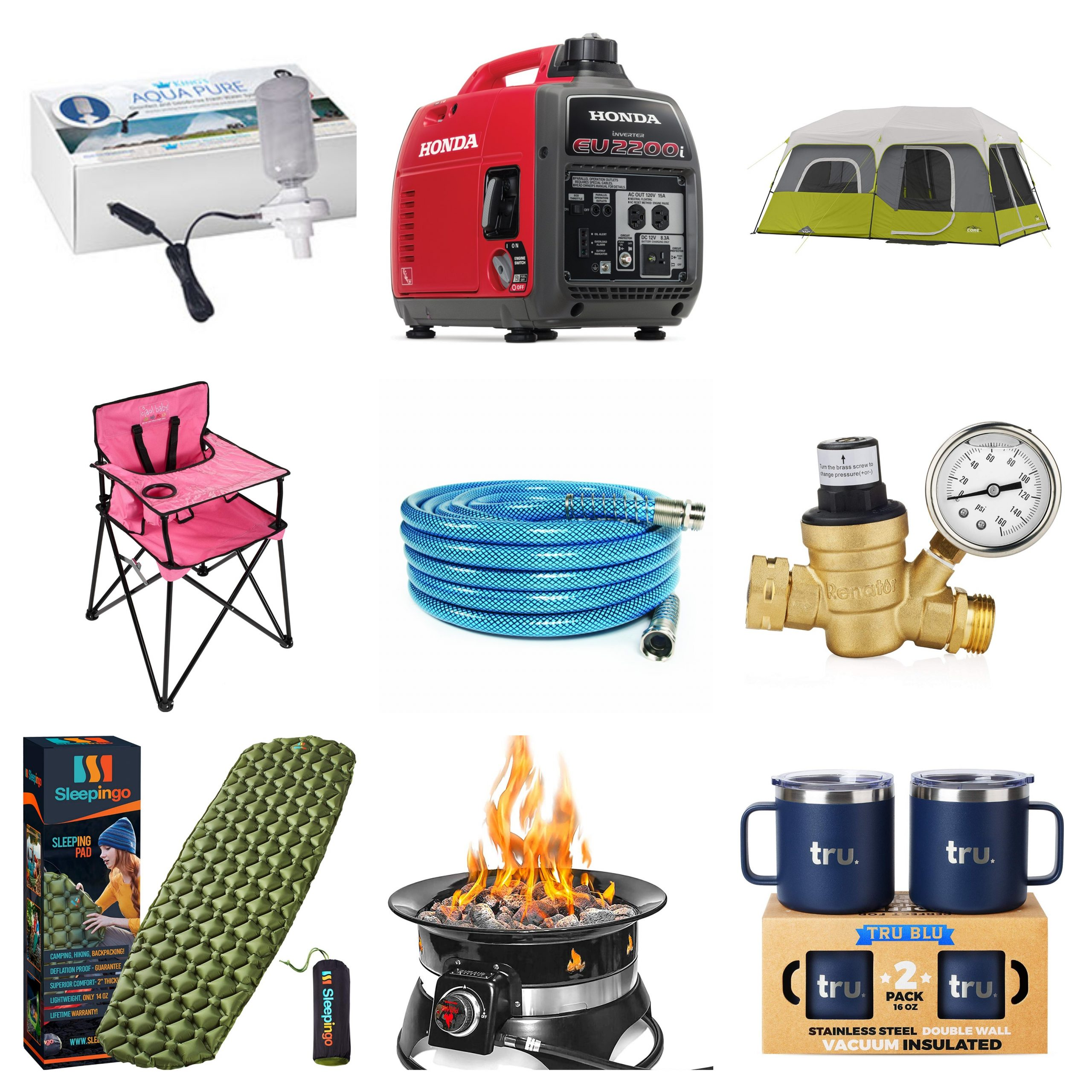 RV Accessories Collage The Adventure Travelers