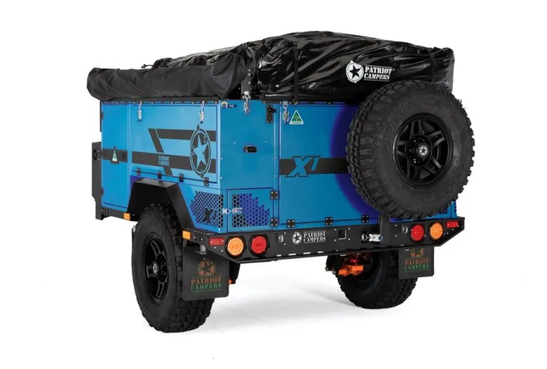 x1-2020-blue Patriot Camper Trailer The Adventure Travelers