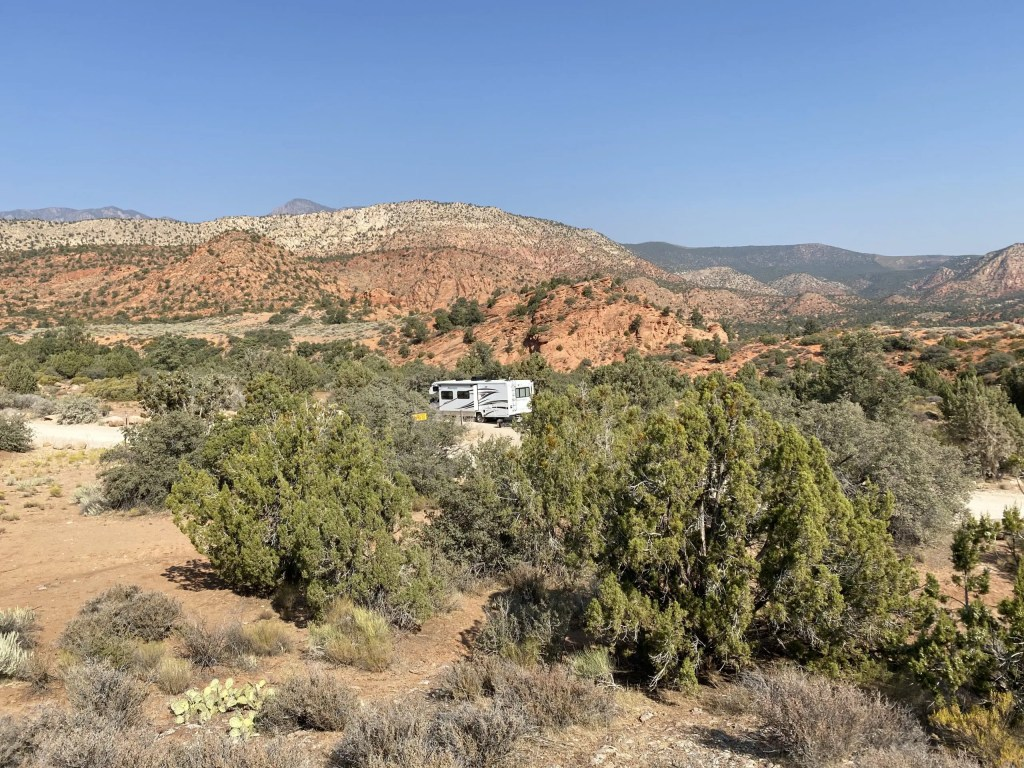 Leeds Canyon Designated Dispersed Camping The Adventure Travelers
