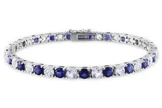 Blue Sapphire 50th Birthday Gift for Your Wife
