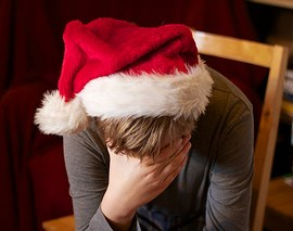 how to cope with not getting pregnant over the holiday season