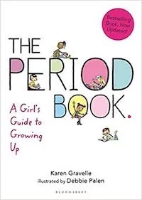 Period Book for Girl's First Menstrual Cycle