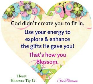 Heart She Blossoms Tip