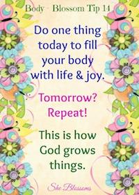 she blossoms body tip 14
