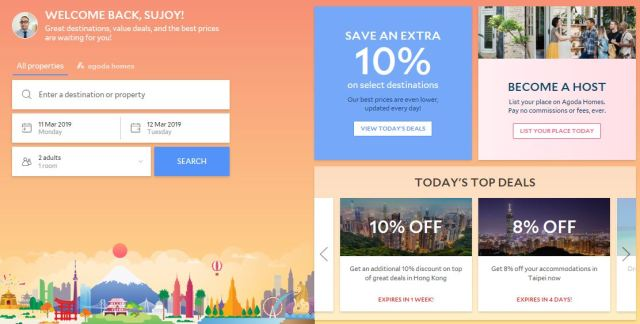 agoda 1024x518 - Top 5 Travel Affiliate Programs For Travel Bloggers in 2019