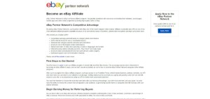 eBay Affiliate Network and Program