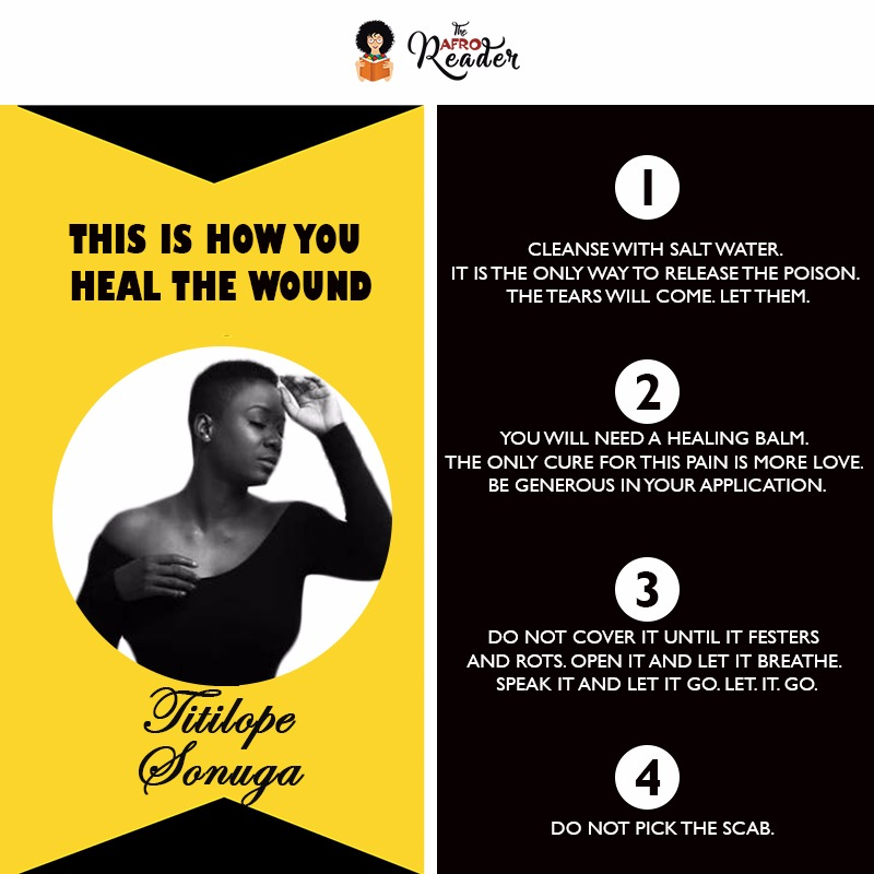 This Is How You Heal The Wound - Titilope Sonuga