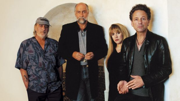 Legends: International rock act Fleetwood Mac.