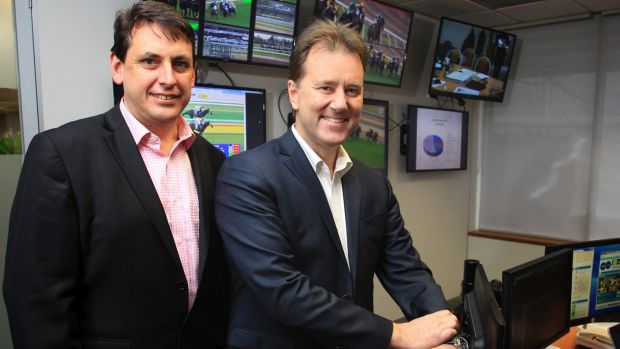 Racing Victoria's general manager of integrity services Dayle Brown, right.