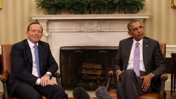 Unvarnished and strategic: Tony Abbott with US President Barack Obama.