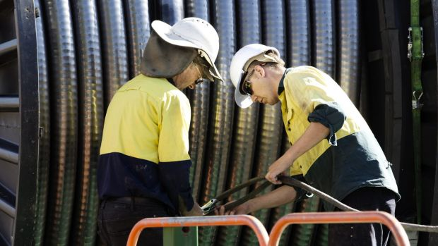 An entire division of Victorian powerline maintenance workers and apprentices lost their jobs in June as Transfield cited a downturn in work.