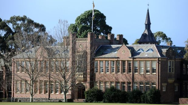 The Geelong College campus.