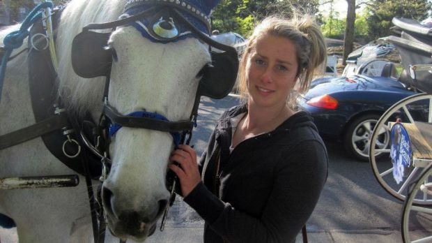 DSE fire-fighter Katie Peters who died fighting the Harrietville bushfire in February 2013.